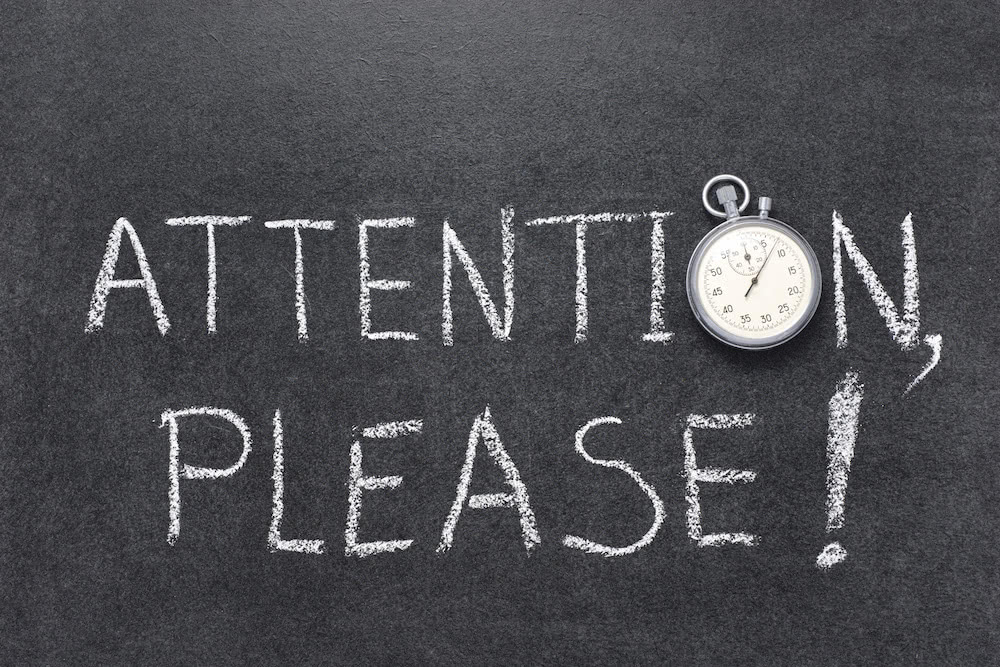 Why attention span is important to increasing fitness leads through your website