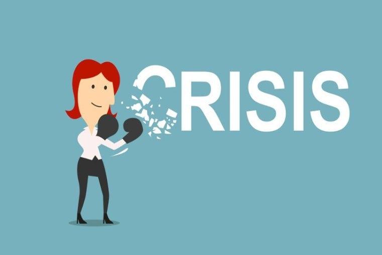 crisis vallen en opstaan