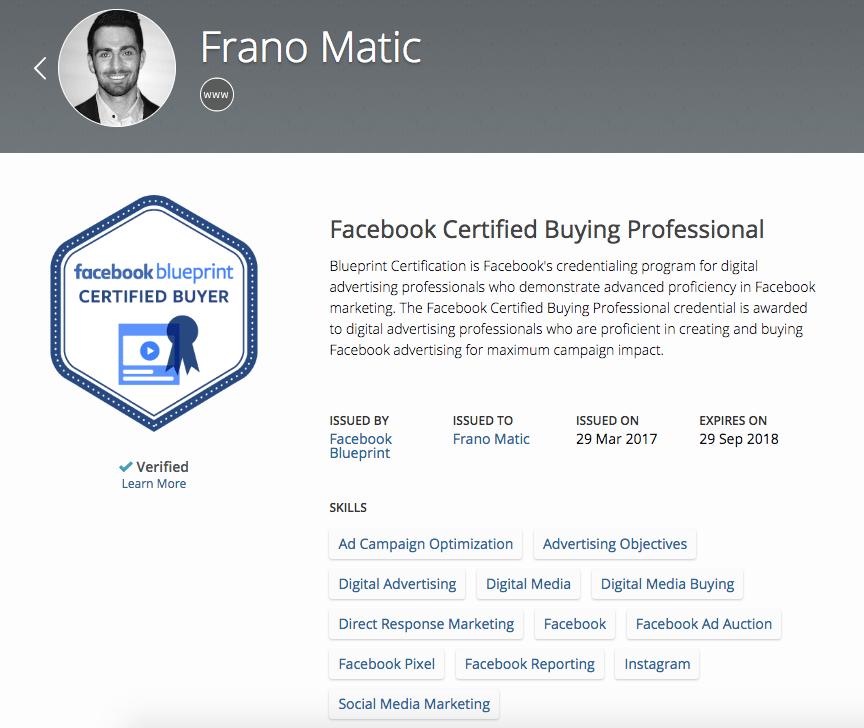 1st Facebook Marketing Certified Fitness Marketing Agency