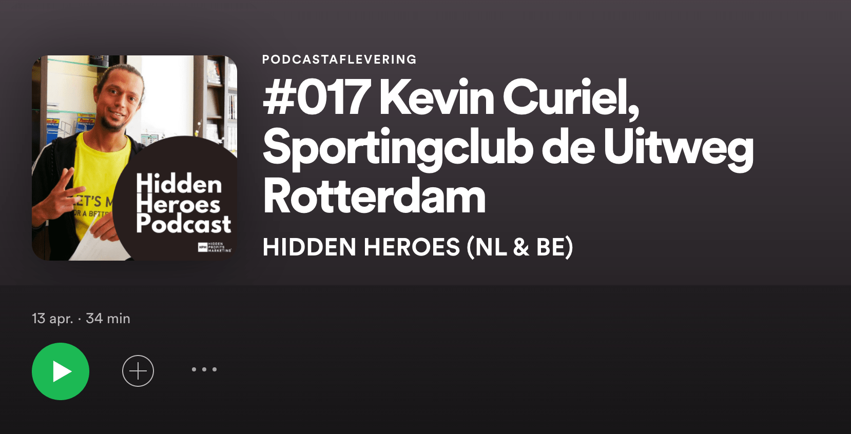Podcast Kevin Curiel Hidden Heroes 017