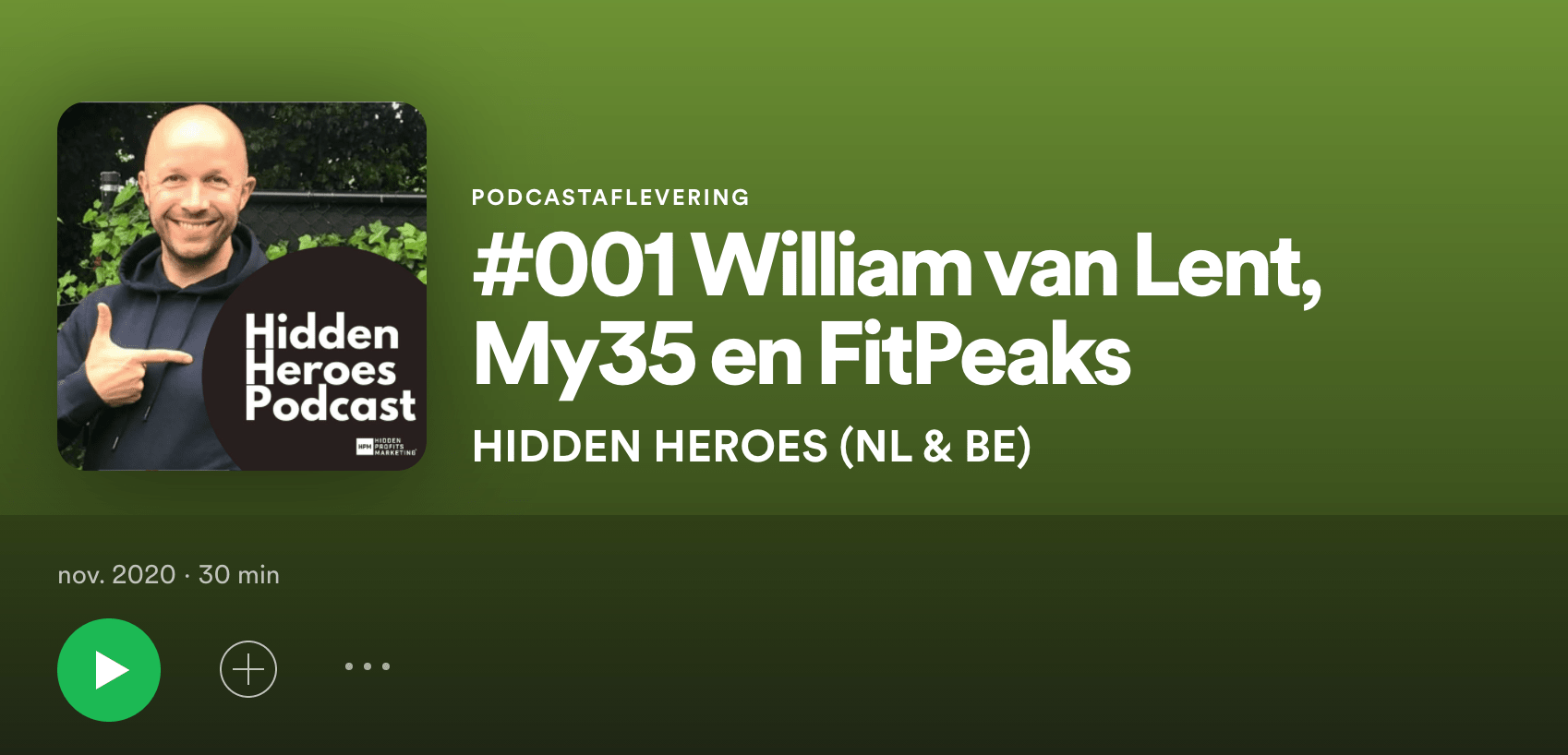 Hidden Heroes Podcast William van Lent