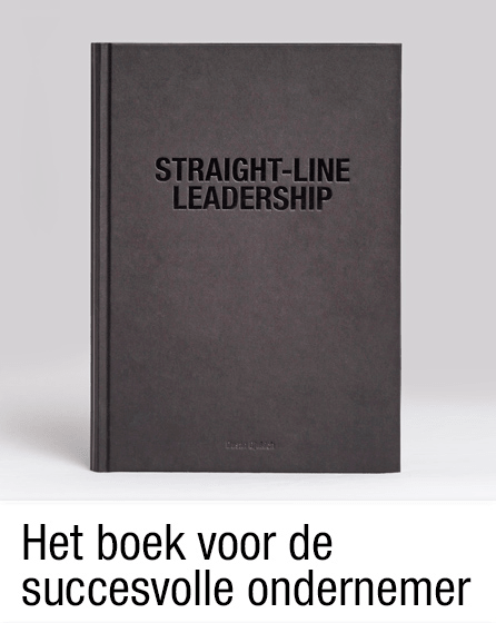 Boek Straight Line Leadership
