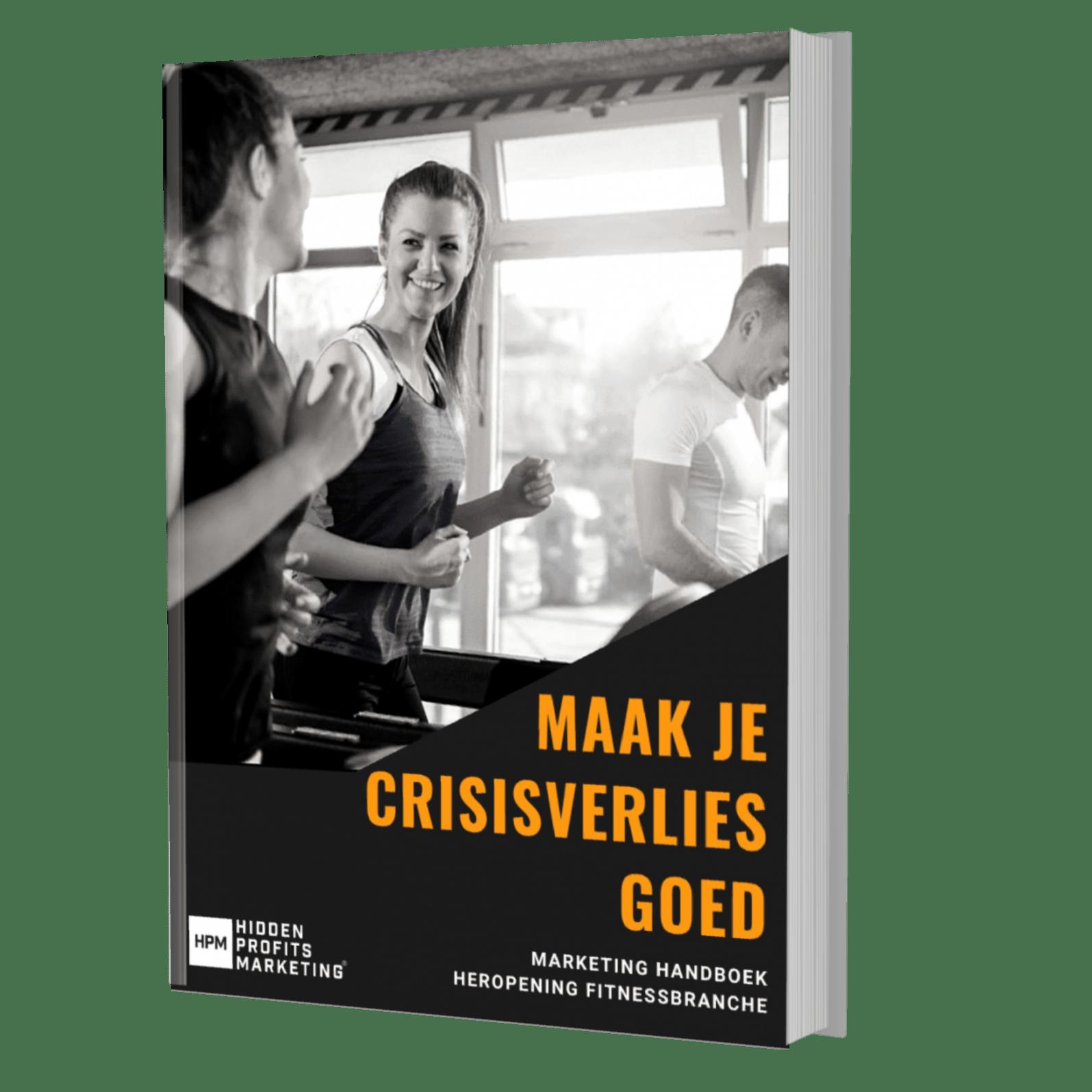 'Maak je crisisverlies goed' - Download kosteloos het Nieuwe Marketinghandboek Heropening Fitnessbranche (PDF)