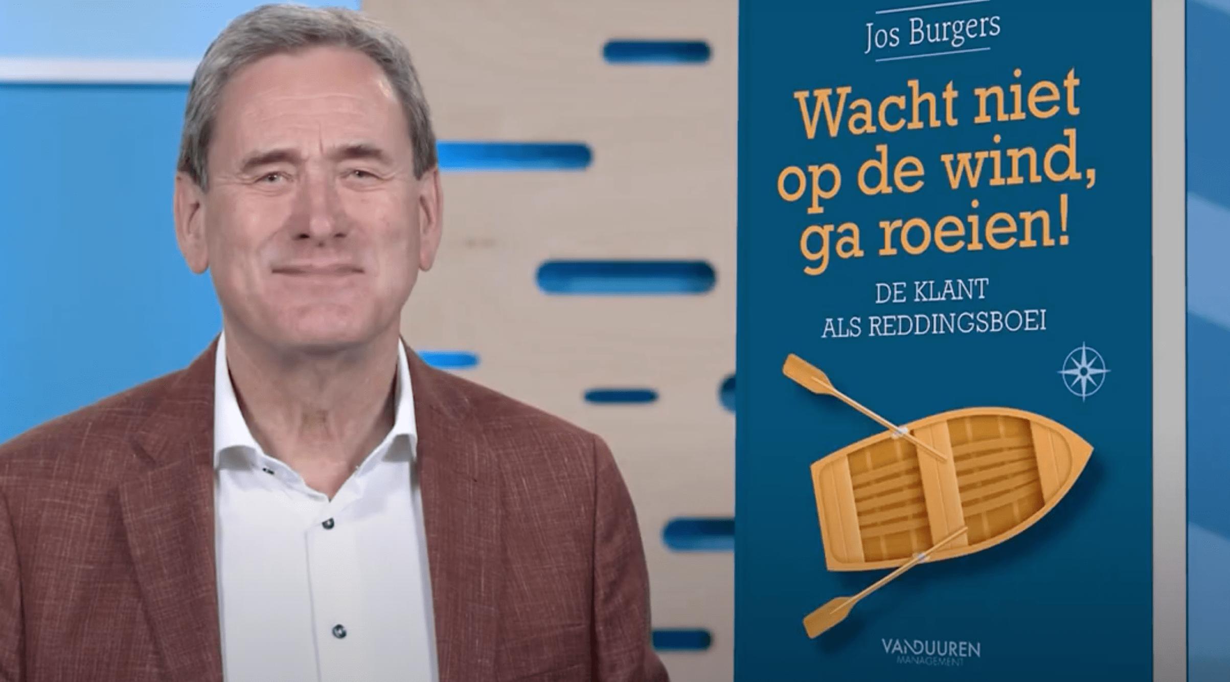Boek van de Maand: Jos Burgers - Wacht niet op de wind, ga roeien!