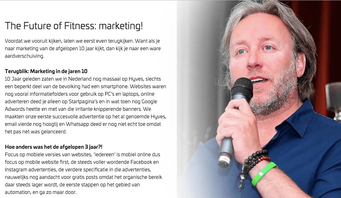 The future of Fitness: de nieuwe marketing voor de jaren '20